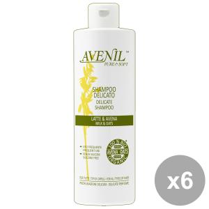 Set 6 AVENIL Shampoo Latte-AVENA 400 Ml.  Prodotti per capelli
