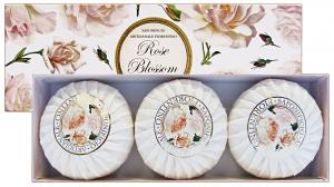 FIORENTINO Saponetta ROSA X 3 Pezzi Saponi e cosmetici