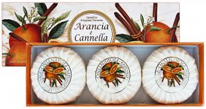 FIORENTINO Saponetta arancia/cannella * 3 pz. - sapone