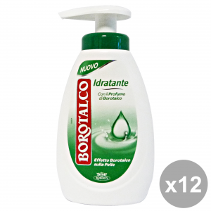 BOROTALCO Set 12 Soap Liquid Moisturizing 250 ml Soaps And Cosmetics