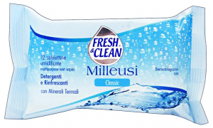 FRESH & CLEAN Salviette Milleusi X 12 CLASSIC-MUSK-LEMON Prodotti igienici sanitari