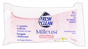 FRESH & CLEAN Salviette ipoallergeniche * 12 pz.