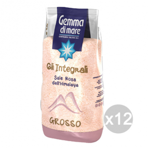 Set 12 Sale Grosso In Busta Dell'Himalaya Integrale 1 Kg 115866 Condimenti E Spezie