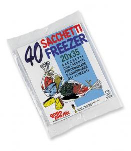 GALLO Freezer busta 20x35 X 40 pz - Avvolgenti e sacchetti alimenti