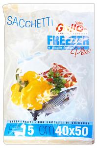 GALLO Freezer busta 40x50 X 15 pz - Avvolgenti e sacchetti alimenti