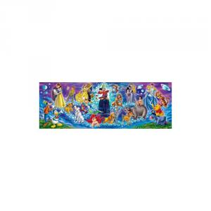 CLEMENTONI Puzzle 1000 Pezzi Disney Family panora