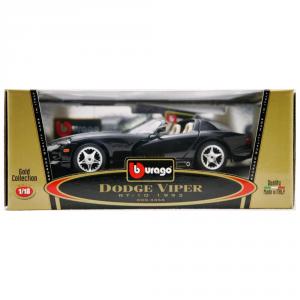 BBURAGO Modellini Auto Scala 1:18 Dodge Viper Rt/10 (1993) Giocattolo Bambino
