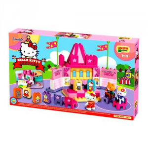 ANDRONI GIOCATTOLI Construction Unico Plus Hello Kitty Teatrino Construction