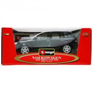 BBURAGO Modellini Auto Scala 1:18 Vw Touareg V10 Tdi Nera Giocattolo Bambino