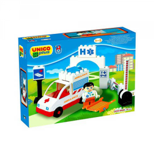ANDRONI GIOCATTOLI Construction Unico Base Ambulance (S) Construction