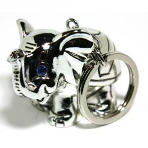 COGNIGNI MICHELE Elefante Silver/Strass Cm.6X4 Articoli Regalo Oggettistica