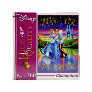 CLEMENTONI Puzzle 260 pezzi Mini Disney Princess Giocattolo