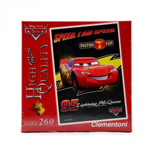 CLEMENTONI Puzzle 260 pezzi Mini Disney Cars Piston Cup Giocattolo