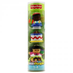 MATTEL Giochi Fisher-Price Personaggi Little People Pz.3 B3254 Giocattolo Bambini Prima Infanzia