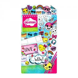 BINNEY & SMITH Crayola Creations Album Adesivoi emoji Scuola Cartoleria