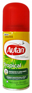 AUTAN Tropical spray secco antipuntura 100 ml. - Insetticidi e repellenti