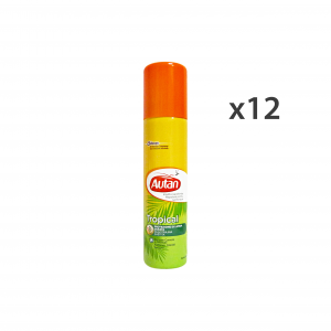 Set 12 AUTAN TROPICAL Spray Antipuntura 100 ml Articles Pour les insectes
