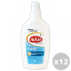 AUTAN Set 12 AUTAN Family Gel antipuntura 100 ml - Insecticides And Repellents