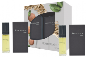 ARROGANCE Regalo Uomo Acqua Profumata 30 Ml +Dopobarba 30Ml. Cosmetica