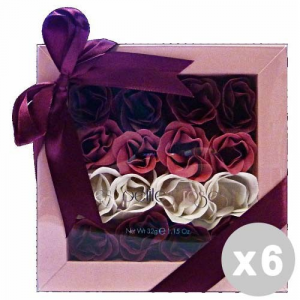 ARROGANCE Set 6 ARROGANCE Confezione regalo le petite rose 16 pz. saponette