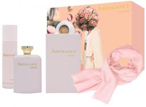 ARROGANCE Regalo Femme Acqua Profumata 100Ml.+Deodorante+Pashmina 667174