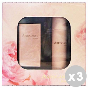 ARROGANCE Set 3 ARROGANCE Confezione regalo femme edt 30 ml. +deo.spray 150 ml.