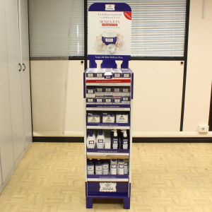 ACQUA ROSE Espositore per negozi 120 Pezzi Detergenti E Tonici