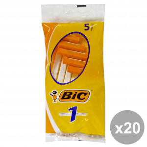 Set 20 BIC CLASSIC 1LAMA R&G X 5 Pezzi Prodotti per rasatura