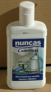 NUNCAS Caffettiere Decalcificante 250 Ml. Detergenti Casa