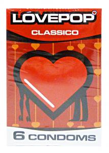 LOVEPOP Condoms Classics 6 Pieces Condoms Anti-conception Condom