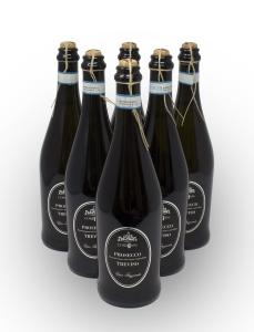 Conf 6 Bott Prosecco Conegliano Valdobbiadene Vino Bianco Frizzante DOC 75 cl