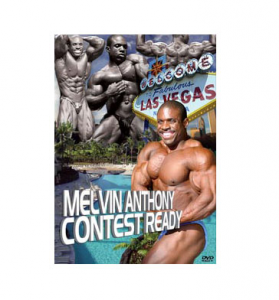 DVD Melvis Anthony Contest Ready Formato: abbigliamento e accessori fitness