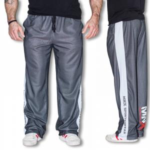MNX SPORTSWEAR Pantaloni uomo mesh MNX, Bianco Line abbigliamento e accessori taglia S