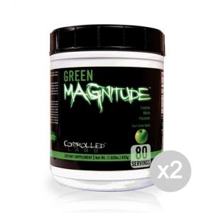 Set 2 CONTROLLED LABS Green Magnitude gusto: Limone Formato: 800g Integratori sportivi