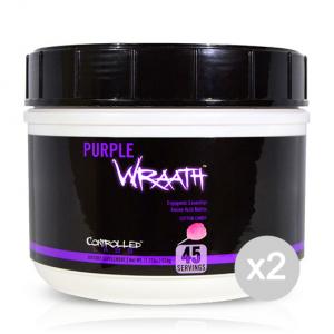 Set 2 CONTROLLED LABS Purple Wraath gusto: Limone Formato: 540 g. Integratori sportivi