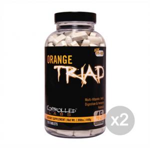 Set 2 CONTROLLED LABS Orange Triad Formato: 270 tabs Integratori sportivi, benessere