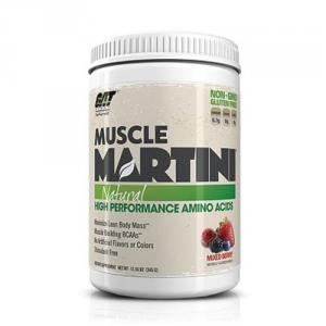GAT Muscle Martini Natural gusto: Peach Mango Formato: 345 g. Integratori