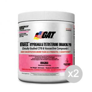Set 2 GAT Nitraflex gusto: Green Apple Formato: 300 g Integratori sportivi, benessere