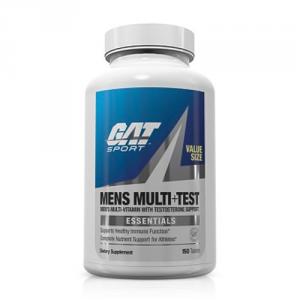 GAT Mens Multi +Test Formato: 60 Tablets Integratori sportivi, benessere fisico