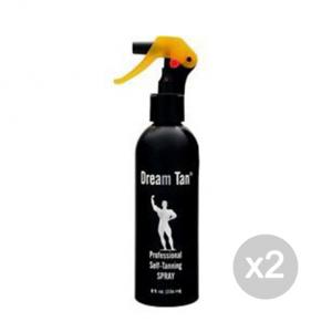 Set 2 DREAM TAN Dream Tan Professional self tanning spray Formato: 236 ml Integratori