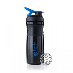 BLENDERBOTTLE SportMixer® - Nero/Blu Formato: 760 ml Integratori sportivi