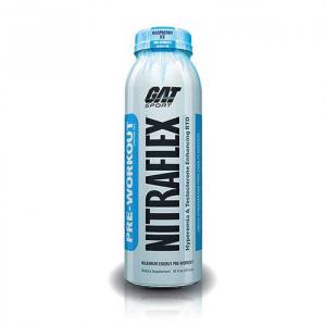 GAT Nitraflex RTD gusto: Raspberry Ice Formato: 295ml Integratori sportivi