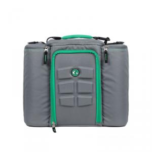 6 PACK FITNESS Innovator 500 - Grigio/Verde abbigliamento e accessori fitness