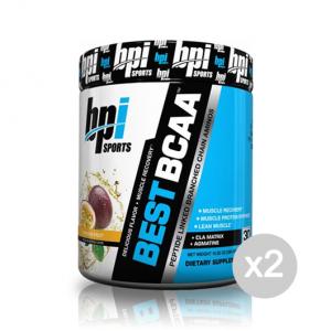 Set 2 BPI SPORTS Best BCAA gusto: Uva Formato: 300 g Integratori sportivi, benessere