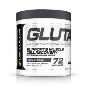 CELLUCOR Glutamine Formato: 360g Integratori sportivi, benessere fisico