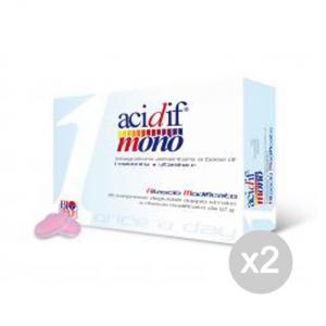 Set 2 BIO HEALTH Acidif Mono Formato: 30 capsule Integratori sportivi, benessere
