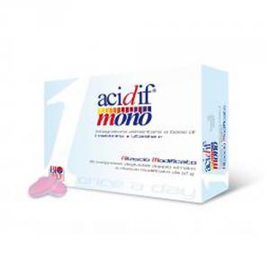 BIO HEALTH Acidif Mono Formato: 30 capsule Integratori sportivi, benessere