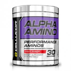 CELLUCOR Alpha Amino - New gusto: Fruit Punch Formato: 384 g. Integratori