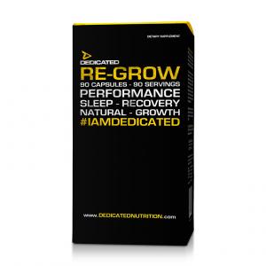 DEDICATED Re-Grow Formato: 90 Capsules Integratori sportivi, benessere fisico