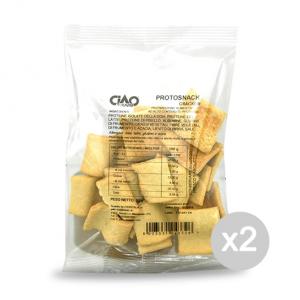 Set 2 CIAO CARB ProtoSnack Formato: 50 g. Integratori sportivi, benessere fisico